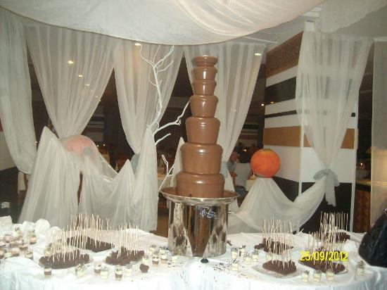 El Mouradi Club Kantaoui: chocolate fountain