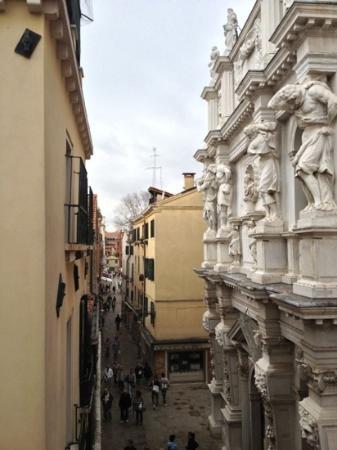 Locanda SS. Giovanni e Paolo: view from room five