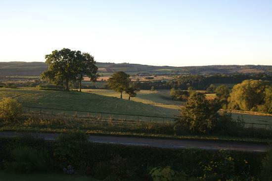 Shallowdale House: View from our window.