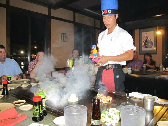 Yamato Steak House of Japan : our cook