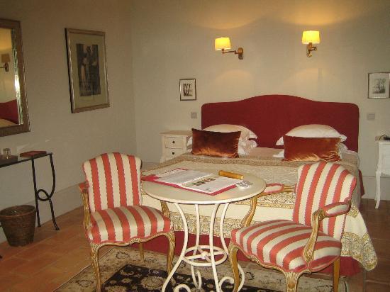 Chateau de Roussan: chambre Toinette
