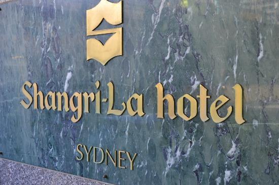 Shangri-La Hotel Sydney: Shangri-La