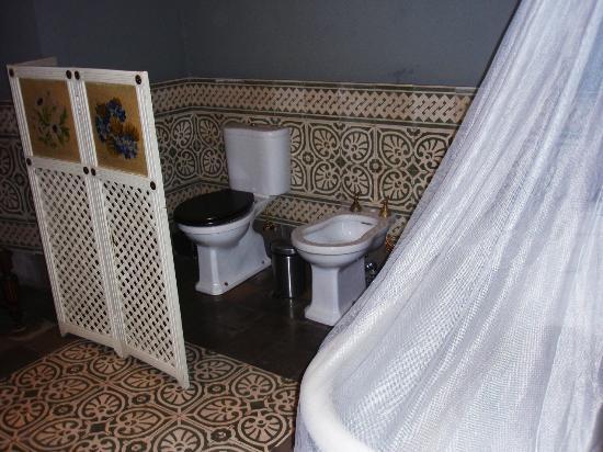 Hotel Palacio de Mengibar: Aseos de exposición (no utilizable)