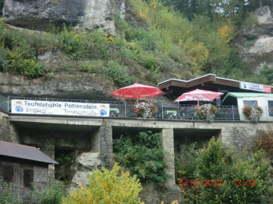 Teufelshöhle Pottenstein: Höhleneingang