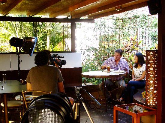 """Cafe Soleil: Grabación del programa """"Por las rutas del pisco"""""""