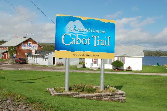 Bras d'Or  Lake: on the Cabot Trail