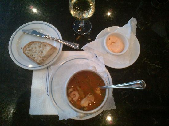 Fischhaus: la zuppa di pesce