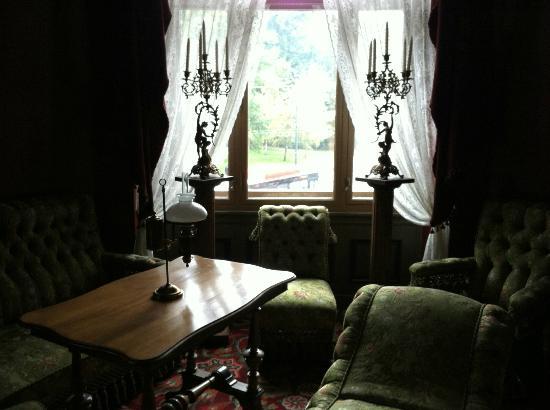 The Ibsen Museum : Ibsen's window.