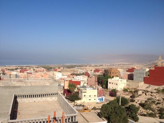Surf Town Morocco : вид с терассы