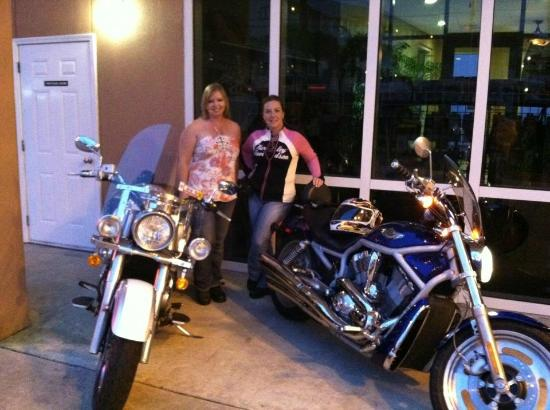 Palmetto Inn & Suites : Biker friendly