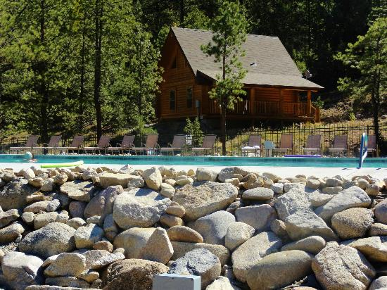 Mount Princeton Hot Springs Resort: Spa area pool