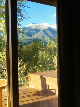 Mount Princeton Hot Springs Resort: View from Cliffside rooms