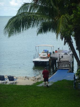 Azul del Mar: our dock