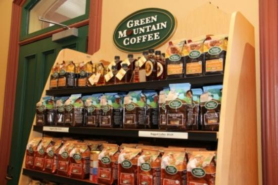 Green Mountain Coffee Cafe & Visitor Center: Gift Shop