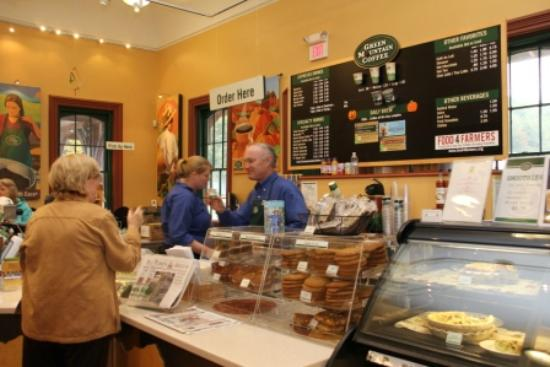 Green Mountain Coffee Cafe & Visitor Center: Cafe
