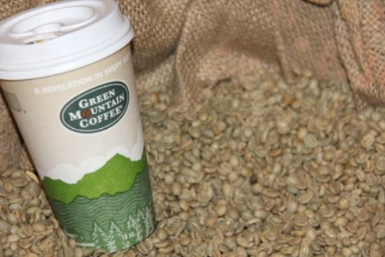 Green Mountain Coffee Cafe & Visitor Center: Coffee Beans