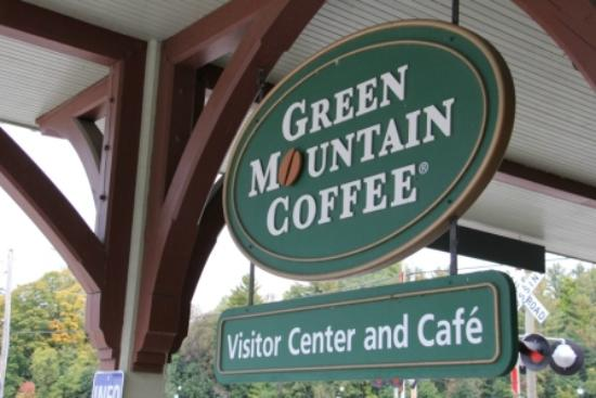Green Mountain Coffee Cafe & Visitor Center: Sign