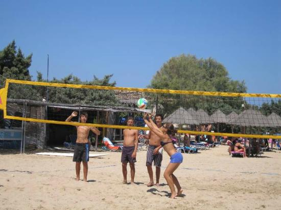 Surfing Beach Village: beach voley