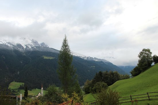 Salouf, Switzerland: View from garden