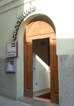 Hotel Il Cacciatore: Entrata
