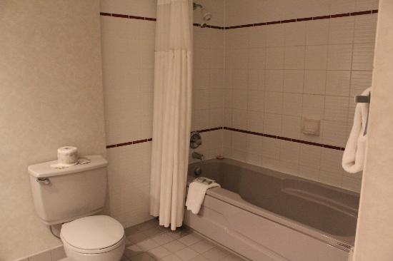 Travelodge Hotel Belleville: Bathroom-Bathtub