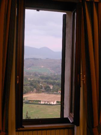 Hotel Il Cacciatore: Veduta dalla camera