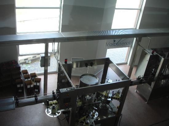 Valbusenda Hotel Bodega & Spa: Embotellado