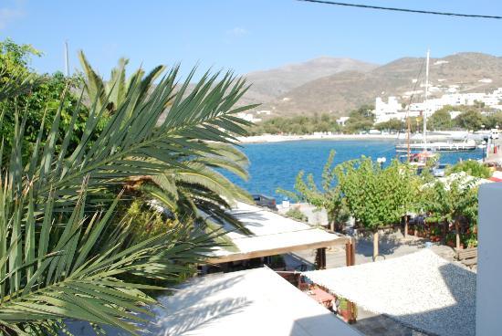 Hotel Minoa: View from Balcony