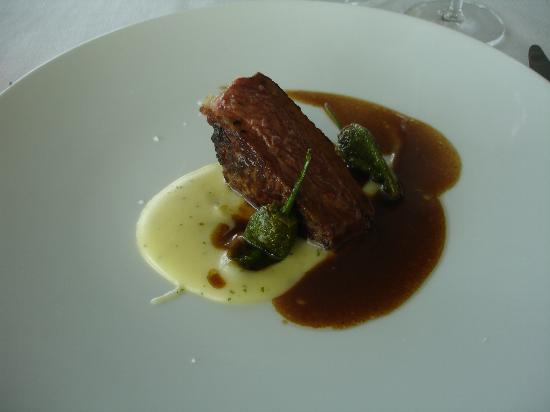 Valbusenda Hotel Bodega & Spa: Uno de los platos servidos