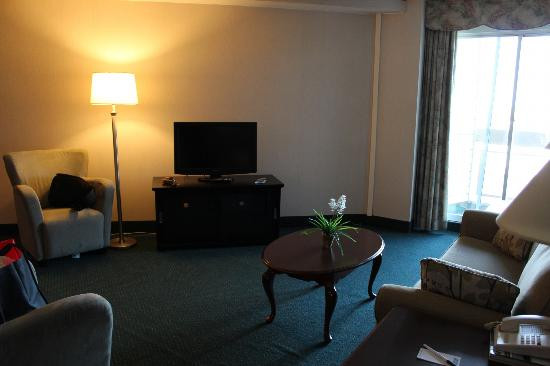 Travelodge Hotel Belleville: Living Room