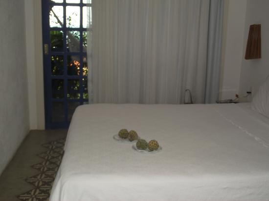 Surpresa no quarto Foto de Pousada Casa Caiada, Maceió  ~ Surpresa Criativa No Quarto