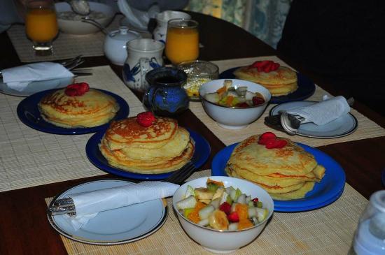 Emu Point B&B: breakfast day 2
