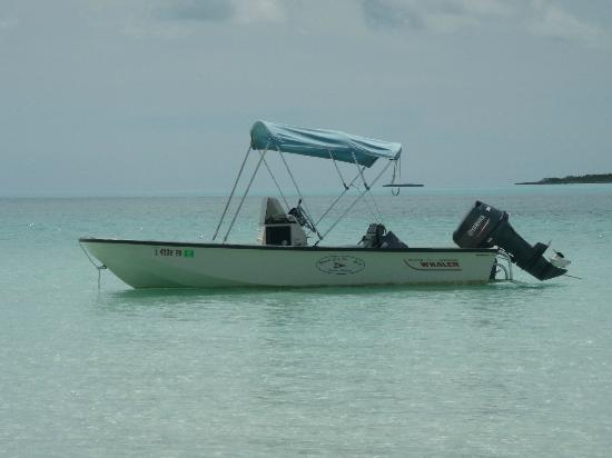 Staniel Cay Yacht Club: 17 ft Boston Whaler