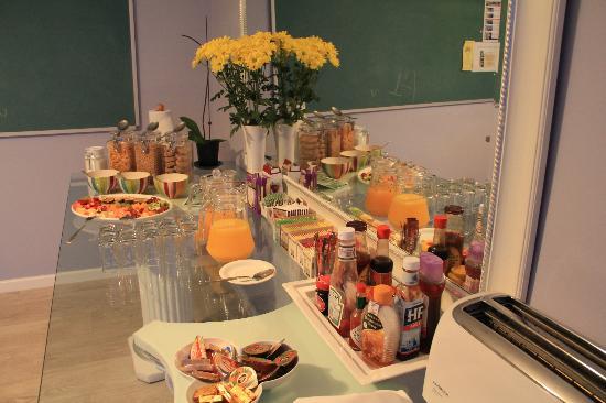 Fullham Lodge: Breakfast spread
