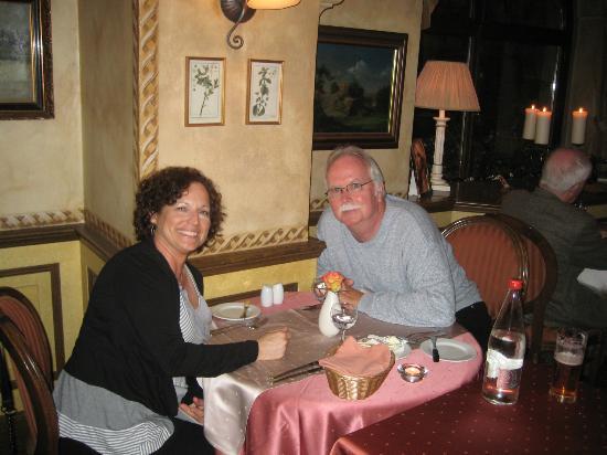 Restaurant Pod Vezi: My wife and I