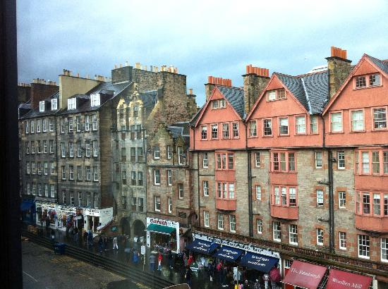 G&V Royal Mile Hotel Edinburgh: room view