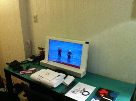 โรงแรมมิสโซนี่ เอดินบะระ: small tv