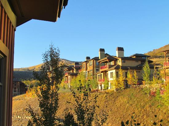 Sundial Lodge at Canyons Village: View from balcony