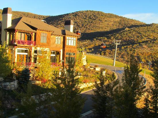 Sundial Lodge at Canyons Village : balcony