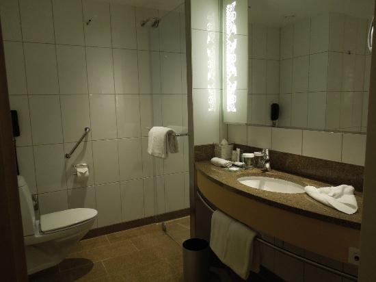 Hilton Copenhagen Airport: Separate shower