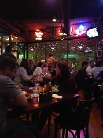 Norton's Restaurant: gear comfort food and bar sports atmosphere. no one is a stranger here. expect to wait but they