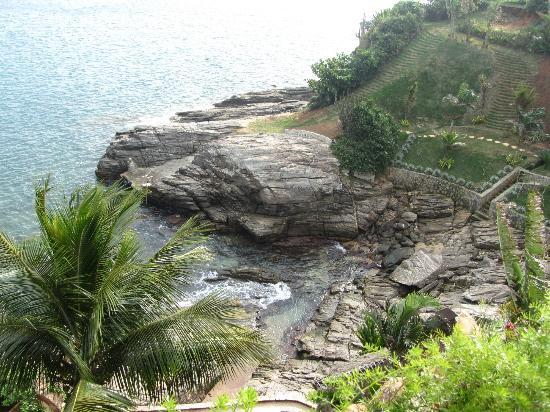 Cachoeira Inn: Private cove