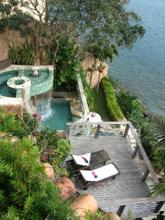 Cachoeira Inn: One of the many pools
