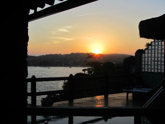 Cachoeira Inn: Memorable sunsets