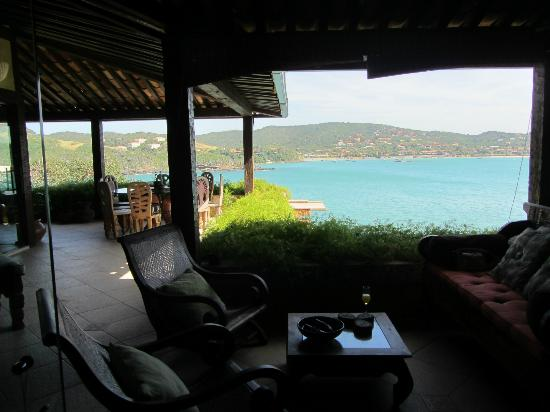 Cachoeira Inn: Common area