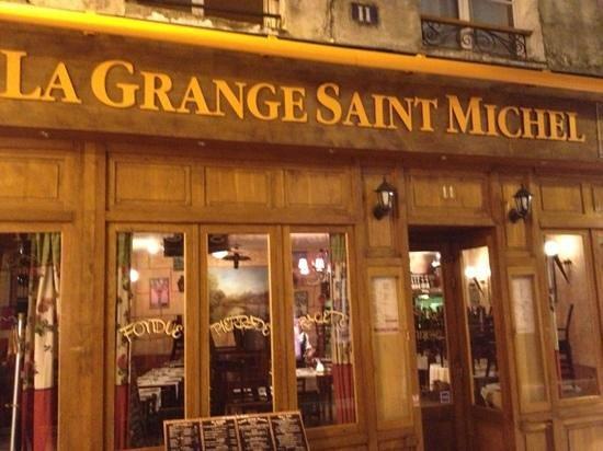 Restaurant La Grange Sainte Geneviève Des Bois - Restaurant La Grange Saint Michel dans Paris avec cuisine Française RestoRanking fr