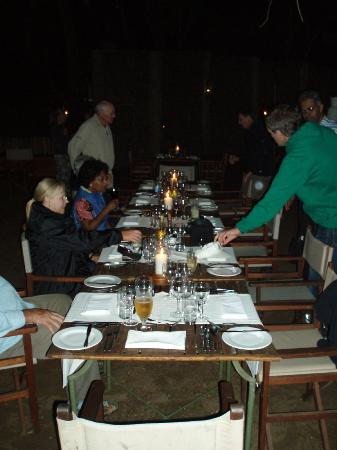 andBeyond Phinda Forest Lodge: Bush Dining