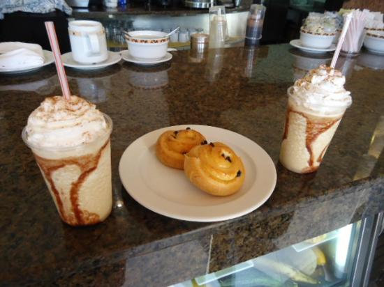 Secrets St. James Montego Bay: Iced Capps at Coco cafe
