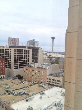 Home2 Suites by Hilton San Antonio Downtown - Riverwalk: View from the 14th floor of The Tower of the Americas
