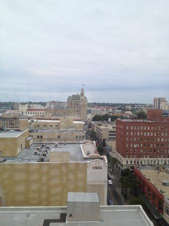 Home2 Suites by Hilton San Antonio Downtown - Riverwalk: View from the 14th floor. Next to the tall building (the Emily Morgan hotel) is the Alamo.